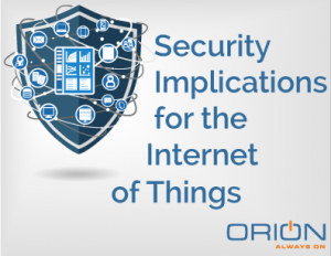Security Implications of the Internet of Things