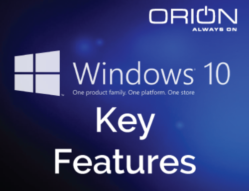 A Look at Windows 10 Key Features