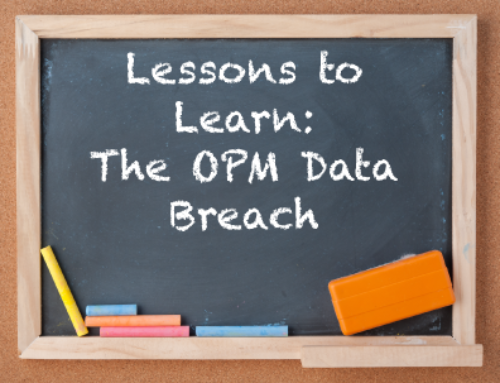 Lesson to Learn from the OPM Breach