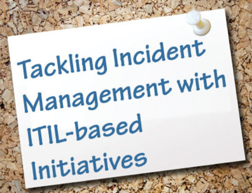 Tackling Incident Management with ITIL Inspired Initiatives