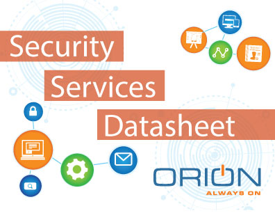 Security Services Data Sheet - Orion