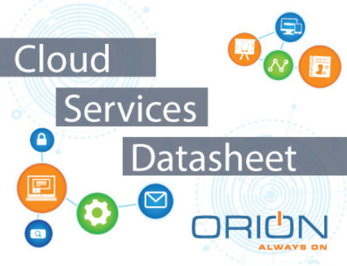 Cloud Services Datasheet