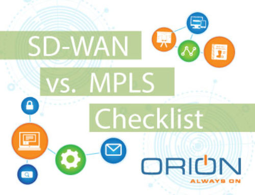 SD-WAN v. MPLS Comparison Checklist
